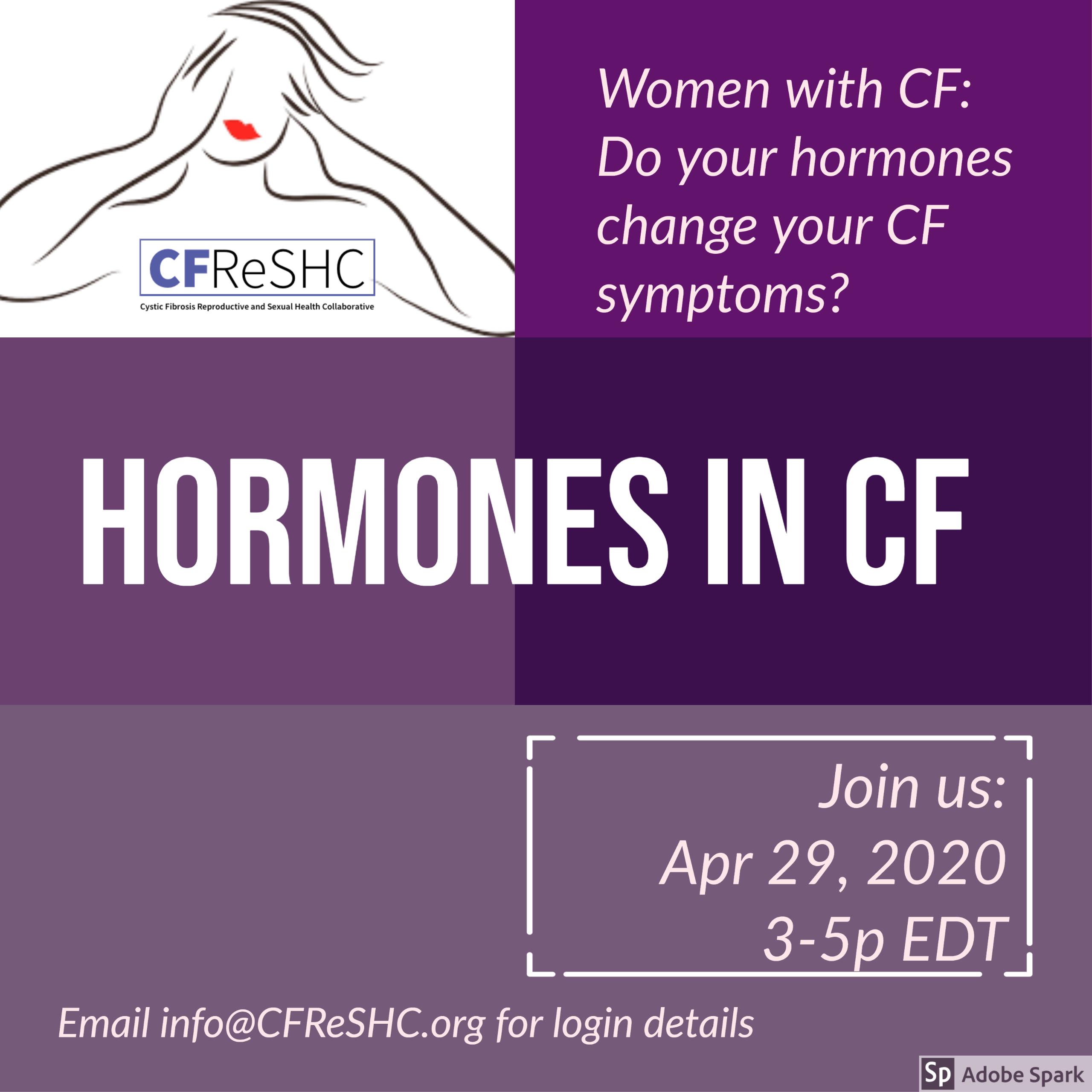 Hormones: Change in Symptoms & More