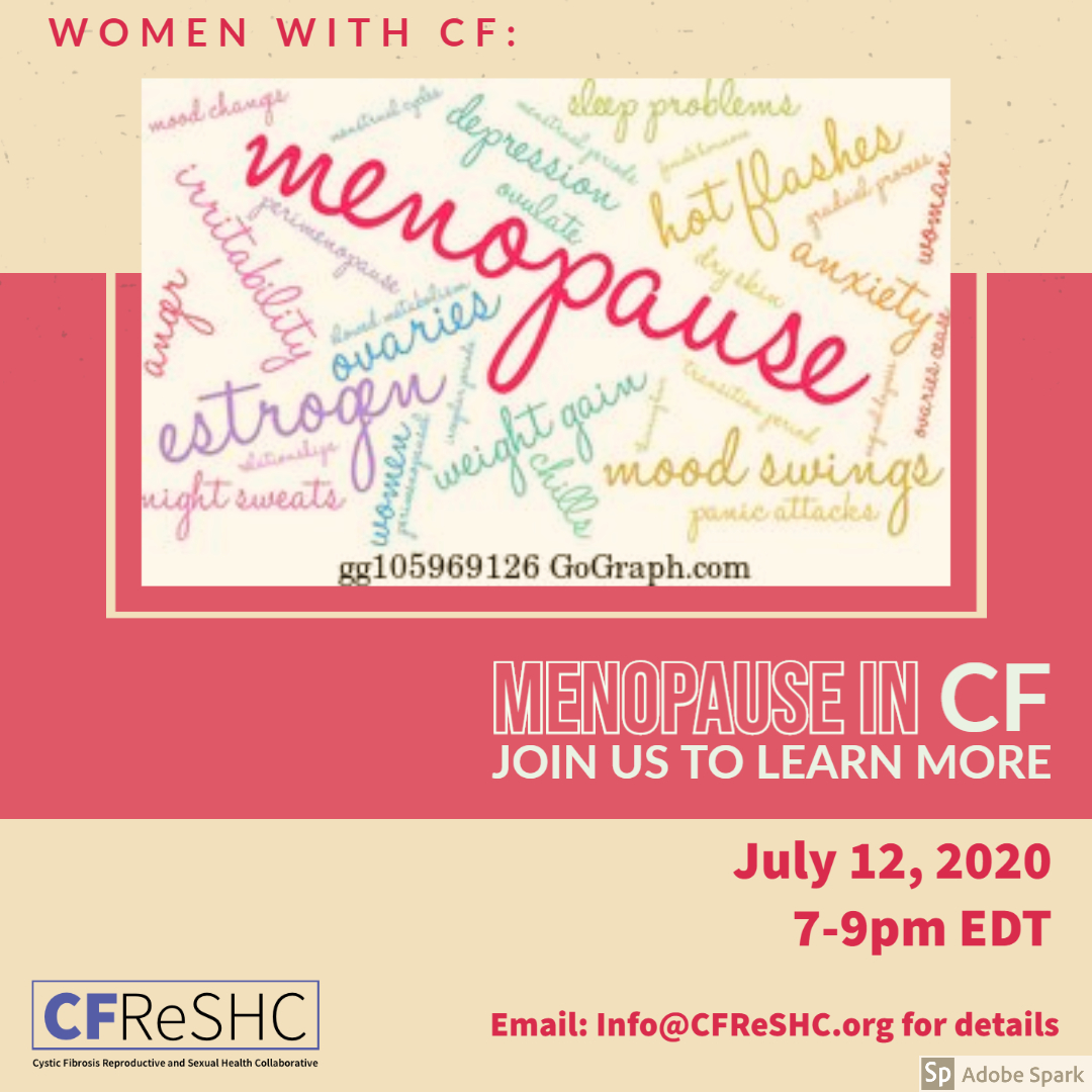Menopause in CF: Estrogen, Ovaries, Weight Gain & More