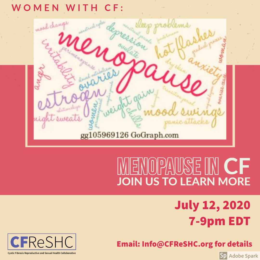 Menopause in CF: Estrogen, Ovaries, Weight Gain & More